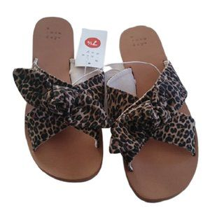 a new day Brown Animal print Livia Sandals